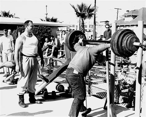 bodybuilder oliver sacks days  muscle beach