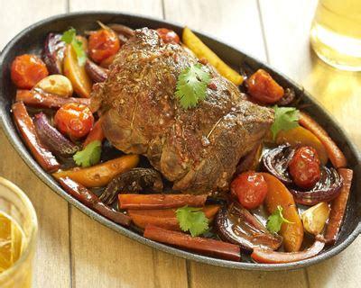 cuisiner le roti de veau recette rôti de veau aux légumes