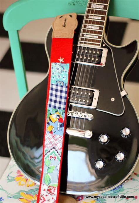 scrappy diy guitar strap allfreesewingcom