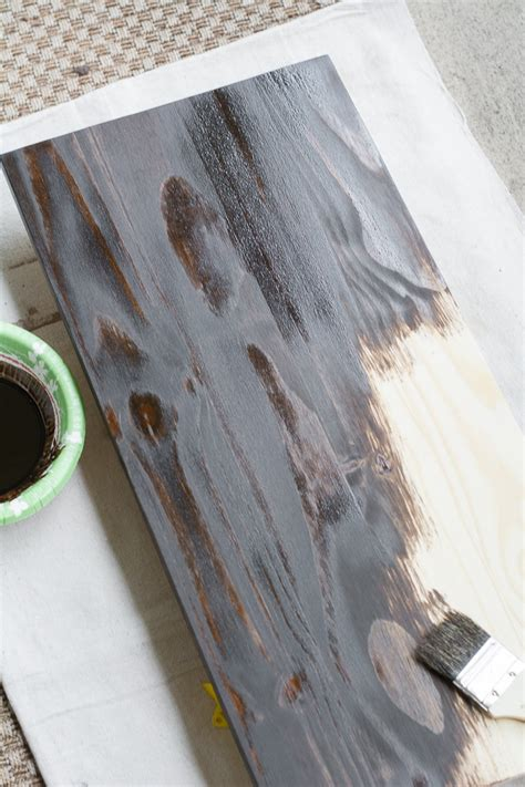 stain  finish wood