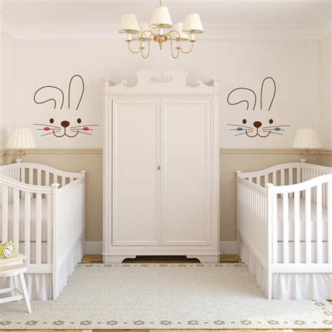 Kinderzimmer Für Zwillinge Gestalten by Quarto De Beb 234 Coelhos Inspire Se No Conto De