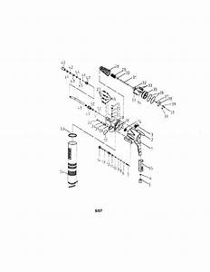 Air Grease Gun Diagram  U0026 Parts List For Model 875199590