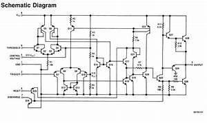Lm555 Timer Ic - Circuit  Lm555cn Datasheet