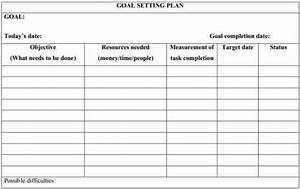 smart goal template pdf images With objective setting template