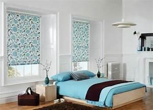 Stores occultants selon l39interieur et le type de la fenetre for Chambre a coucher adulte avec store interieur fenetre sans percer