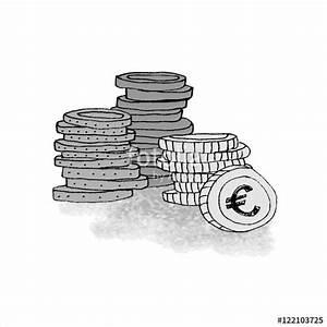 Bilder Schwarz Weiß Gemalt : m nzen geld geldstapel gezeichnet gemalt illustriert element f r dozenten prospekte grau ~ Eleganceandgraceweddings.com Haus und Dekorationen