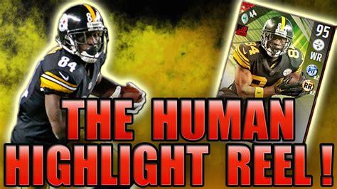 95 OVR ANTONIO BROWN THE HUMAN HIGHLIGHT REEL! - MADDEN ...