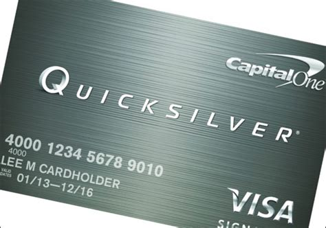 In addition, capital one credit card products define good credit to mean: New Capital One Quicksilver Credit Card Released | MyBankTracker