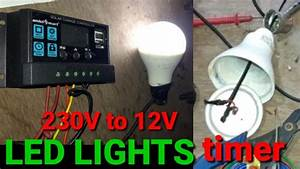 How To12 Volt Led Lights Making   Converter 230v To 12v