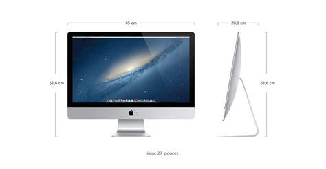 bureau pour imac test apple imac 27 pouces retina 5k 2014 notre avis