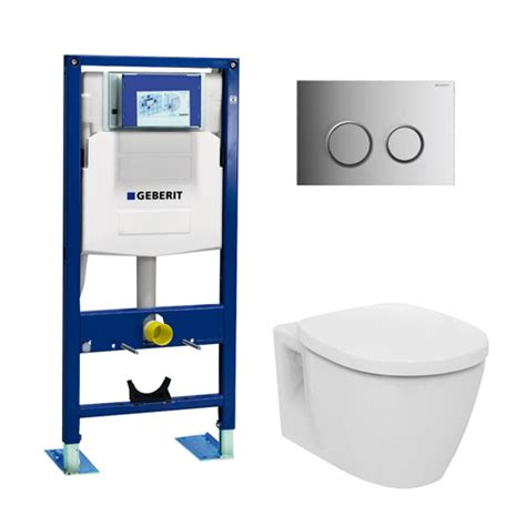 geberit pack wc suspendu ideal standard autoportant 3 en 1 distriartisan
