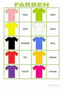 Farben Auf Englisch : willkommen auf deutsch farben memory arbeitsblatt kostenlose daf arbeitsbl tter ~ Orissabook.com Haus und Dekorationen