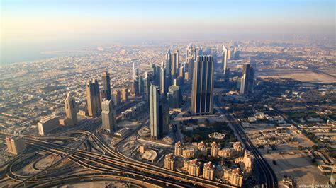 Full Hd Wallpaper Dubai Landscape Top View, Desktop