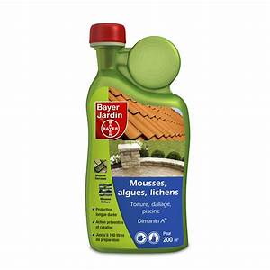 Anti Mousse Algues Et Lichens BAYER 1L Leroy Merlin
