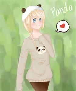 Cute Panda Girl Minecraft Skins