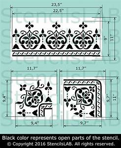 Schablone Wand Barock : ber ideen zu ornament schablone auf pinterest schablonenkunst stencilschablonen und ~ Bigdaddyawards.com Haus und Dekorationen