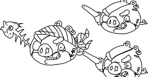 Angry Birds Epic Kleurplaat by Angry Birds Epic Coloring Page Pirate Pigs My Free