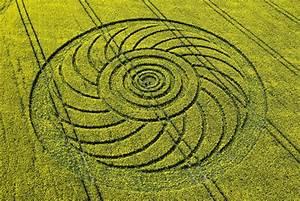 Crop Circle Designs; Simple Circle Arrangements