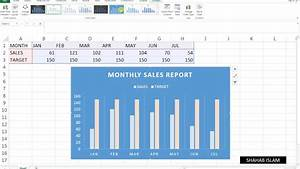 26 How To Make Sales Report In Ms Excel Tutorial In Hindi