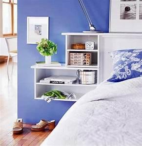 Dressing Autour Du Lit : 10 astuces de rangement pour la chambre ~ Premium-room.com Idées de Décoration