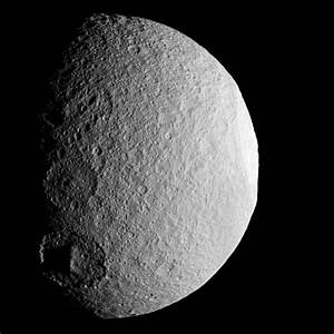 Saturn's Moon Tethys - Universe Today