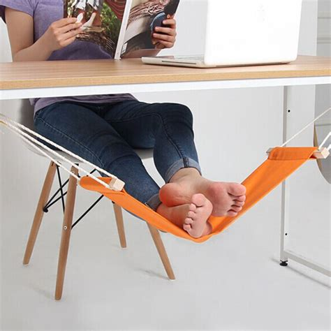 Foot Hammock For Desk portable mini office foot rest stand desk hammock