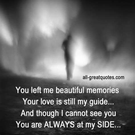 You Left Me Beautiful Memories, Your Love Is Still