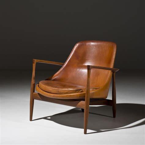 ib kofod larsen elizabeth leather chair 1956
