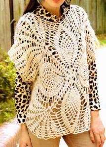 Crochet En S : tejidos artesanales en crochet increible chaleco cuadrado ~ Nature-et-papiers.com Idées de Décoration