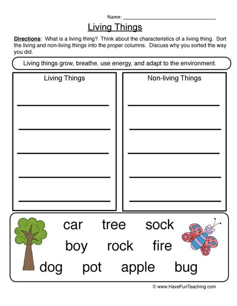 image result for living things and nonliving things