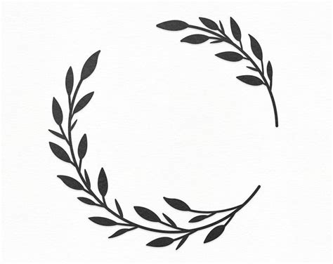 pin  wreath monograms
