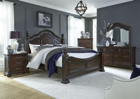 king poster bedroom sets messina estates poster bedroom set from liberty 737 br01 15751 | 737 br qpsdmcn 3
