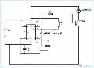 1 Watt Led Dimmer Circuit Diagram