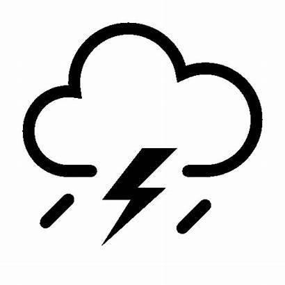 Weather Icon Storm Icons Thunderstorm Bad Ios