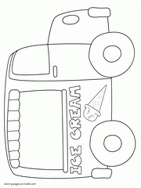 ice cream coloring pages  printable pictures