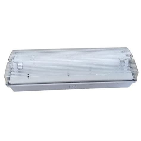 ceiling surface mounted fluorescent emergency light