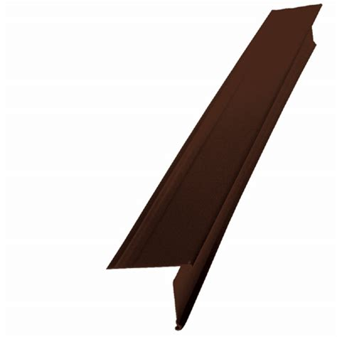kaycan solin de toit en aluminium 2 quot brun chocolat