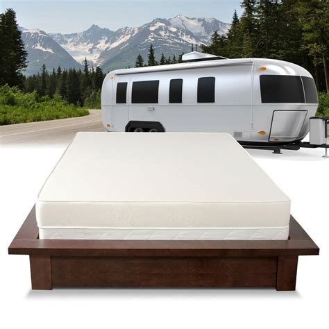 select luxury home rv   firm flippable short queen