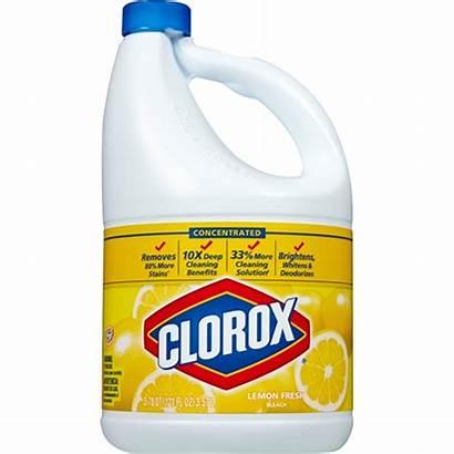 Bleach Clorox Lemon Fresh Concentrated Oz Qt