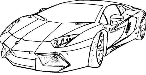 2014 Lamborghini Aventador Coloring Pages Coloring Pages