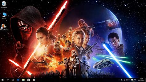 Star Wars The Force Awakens Theme Windows 8 And 10 Save