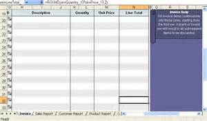 Creating An Excel Template 7 Creating An Invoice Invoice Template