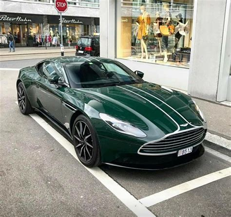 aston martin db british racing green cars aston