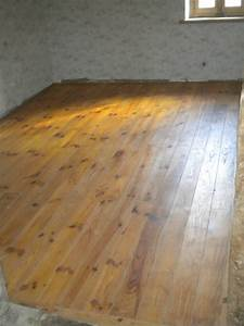 amenagement interieur bois sur mesure With parquet sapin brut