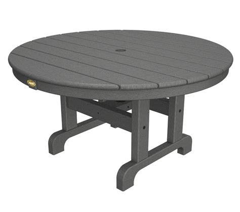 Outdoor Coffee Table With Umbrella Hole Design   Roy Home Design
