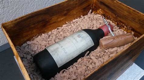 jeux de cuisine gateau au chocolat gateau caisse de vin en bois et bouteille de vin aacook