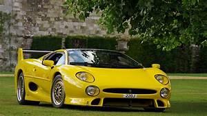 car, Jaguar XJ220S, Yellow Wallpapers HD / Desktop and