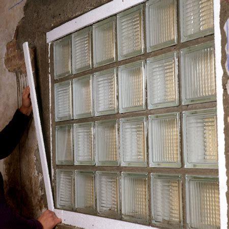 comment monter des briques de verre bricobistro