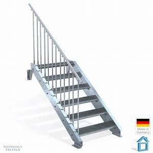 Treppe 3 Stufen Aussen : terrasse treppe stahl 6 giitterrost stufen 80 cm breite steinhaus treppen treppen g nstig ~ Frokenaadalensverden.com Haus und Dekorationen
