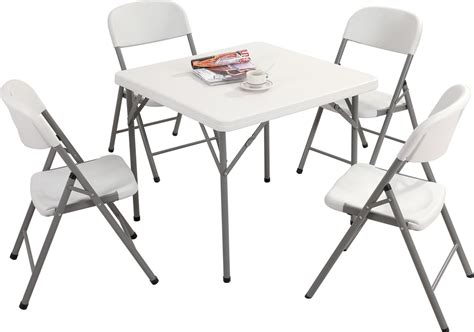 10 ft folding table 5 x 2ft square folding tables special offer